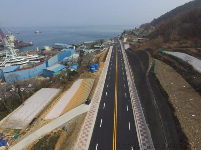 1. 여수시, '진두~조선소' 도로 12년 만에 '뻥' 뚫렸다.jpg