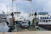 하계 휴가철 기간 섬 여행 차량 이용객 증가