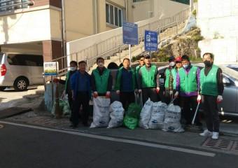 여수시 충무동 새마을지도자협의회, 봄맞이 청결활동 나서