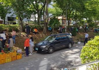 여수시 여서동, 꽃밭 '새 단장'…주민 '호평'